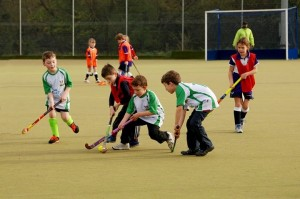 Under 8s youth hockey coaching