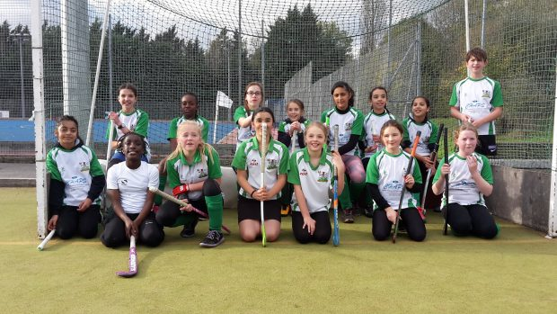 The U10 and U12 Girls Nov 2017